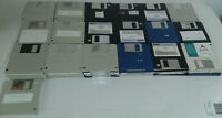 Lot of 182 3.5 inch Floppy Diskettes With Misc Programs and Data