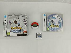 Pokemon SoulSilver Nintendo DS 2010 with Pokewalker, box and case