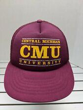 Vintage Central Michigan Chippewas Trucker Hat