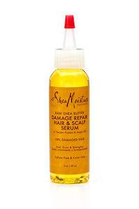 SHEAMOISTURE RAW SHEA BUTTER DAMAGE REPAIR HAIR & SCALP SERUM 2 fl oz / 59 ml