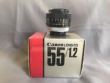 Canon FD 55mm f/1.2 S.S.C Lens