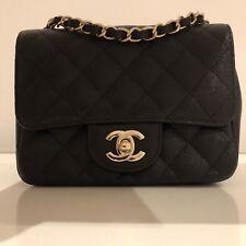 13baa9d306046 Chanel Mini Flap Bag Black Caviar GHW Brandnew