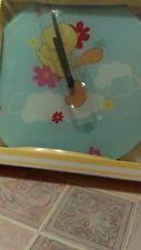 "Tweety Bird clock glass decoration Wall 12"" Warner Brothers Looney Tunes New"