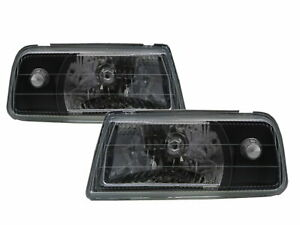 Sidekick ET/TA MK1 88-98 Convertible/SUV Clear Headlight Black for SUZUKI LHD