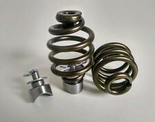 "Solo Seat Weld on Mounting Kit Bronze 3"" Easy Fit Springs Harley Chopper Bobber"