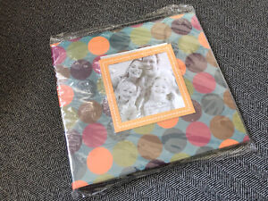 Pioneer 8x8 Photo Album Scrapbook Polka Dot 20 Plastic Insert NIB MAKE AN OFFER