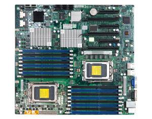 SuperMicro H8DG6-F G34 AMD Socket Sockel Mainboard Motherboard mit I/O Blende