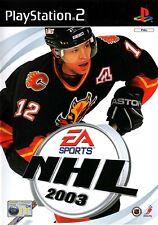 NHL 2003 PS2 (PlayStation 2)  - Free Postage - UK Seller