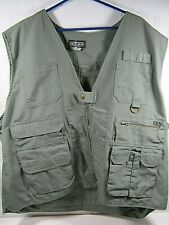 Tact Gear Take Command Men's Green Tactical Vest Size 3XL Hunting, Camera  (P16)