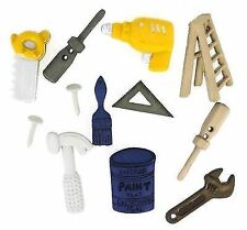 VAT Dress It up Tool Time Handyman 6 Buttons Crafting Knitting Sewing