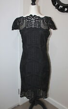 Grace and Hart black lace dress size 12 USED #315