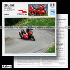 #028.07 Side-car SIDE-BIKE TORO & YAMAHA TDM 850 90's Fiche Moto Motorcycle Card