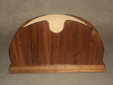 Handcrafted Bookmatched Walnut Coffee Filter Holder for Melitta #4