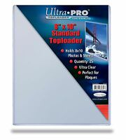 10 8x10 ULTRA PRO RIGID TOPLOADERS PHOTO HOLDER SLEEVES 8 x 10 Top Load Holders