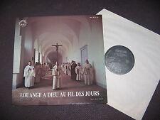 LP MOINES DE L'ABBAYE NOTRE-DAME DE CÎTEAUX / LOUANGE A DIEU AU FIL DES JOURS