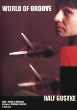 Ralf Gustke World Of Groove Learn to Play Jazz Drums Drummer Music DVD