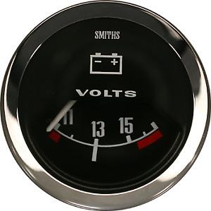 Smiths VoltMeter 52 MM Diameter Classic Mini Cooper