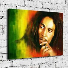 Bob Marley Poster Painting HD Print on Canvas Home Decor Room Wall Art Picture