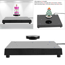 Rotating Magnetic Levitation Floating Show Shelf Display Platform Home Decor JS