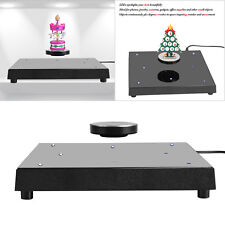 LED Rotating Magnetic Levitation Floating Show Shelf Display Plateform Decor