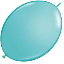 Ballons de fête bleu ovales pour la maison toutes occasions