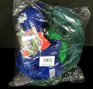 """Aurora PERRY PEACOCK Flopsie 9"""" tall plush stuffed animal SEALED WITH TAG"""