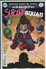 SUICIDE SQUAD #14 - REBIRTH - JOHN ROMITA JR ART & COVER - DC COMICS/2017