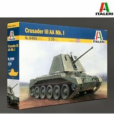 Italeri 6465 British Crusader III AA MkI 1/35 scale plastic model kit