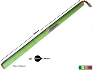 Akkupack Hochstrom, 4/5A 10.8V2200 mAh Stick /mehrere Optionen...