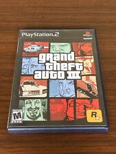 PS2 Grand Theft Auto III 3 - PlayStation 2, 2003) GTA Complete w Map & Tested