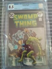 Swamp Thing #6 CGC 8.5/White Pages