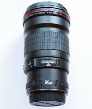 Canon EF 200mm f2.8 USM L II mit Zubehör