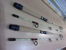 2 Berkley Glowstik spinning rods 7 foot length 2 Piece medium action