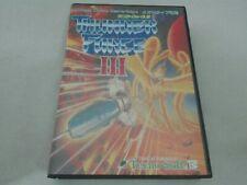 Thunder ForceⅢ Sega Mega Drive Genesis Used Japan TechnoSoft Free Shipping