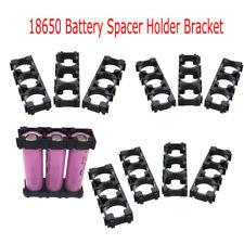 10PCS Battery Spacer 3x 18650 Radiating Holders Bracket EV Electric Car Toy Bike