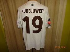FC St.Pauli Original Kappa Matchworn Trikot 2001/02 + Nr.19 Kurbjuweit Gr.M- L