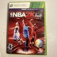 NBA 2K13  (Microsoft Xbox 360, 2011)  Complete Video Game Free Shipping
