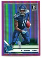 2019 Donruss Optic Pink 164 A. J. Brown RR Rated Rookie