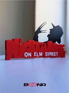 Decorative NIGHTMARE ON ELM STREET self standing logo display