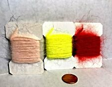 Wapsi Angora Rabbit Yarn Fly Tying Tyers Material Choice of Color (One Package)