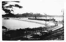 More details for malaya singapore construction of causeway johore real photo postcard wartime.