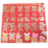 6pcs/set Chinese New Year Red Money Envelope Year of the Rat Packet BagBDSO