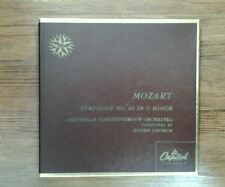 Mozart - Symphony No. 40 In G Minor Eugen Jochum  Red Vinyl 45s Set Amsterdam