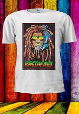 Rastafari Lion Marijuana Bob Marley T-shirt Vest Tank Top Men Women Unisex 550