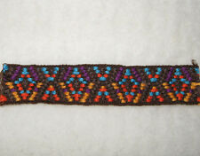 "BTY 3/4"" SOUTHWEST COLORS WOVEN FABRIC TRIM COSTUME SEWING CRAFTING SCRAPBOOKING"