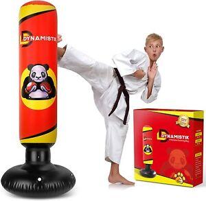 Punching Ball Gonflable & Autoportant 160cm solide et résistant pour enfants