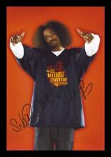SNOOP DOGG LION AUTOGRAPHED SIGNED & FRAMED PP POSTER PHOTO