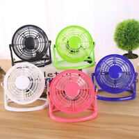 Mini Fan Notebook Laptop Computer Portable Super Mute PC USB Cooler Desk UK