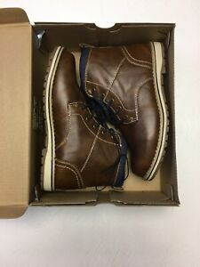 New Boys Boots or Shoes Size 3 M Arizona Jean Co.Brown