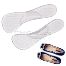 2 X Silicone Arch Support Shoe Pad Cushion Foot High Heel Insole Flat Feet